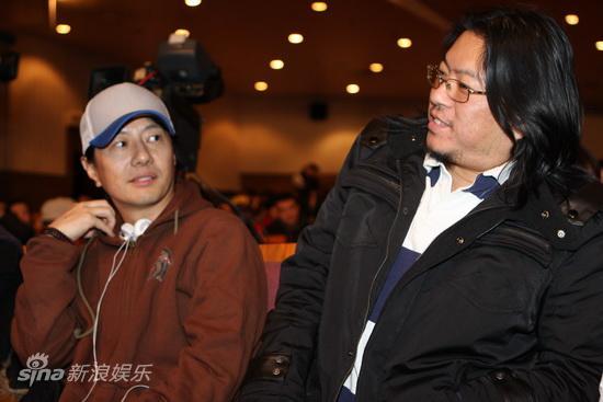 图文:《唐朝兄弟》北大首映-郑钧与高晓松