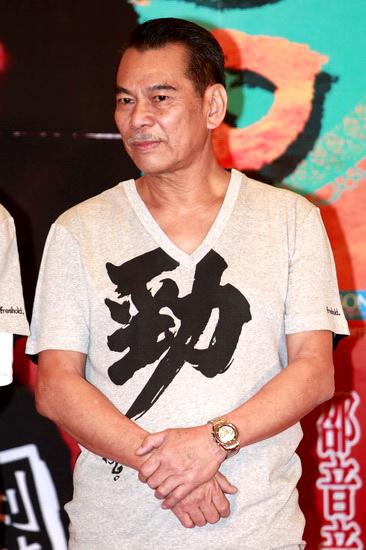 图文:《打擂台》发布会--陈观泰