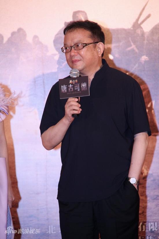图文:《唐吉可德》发布会-王刚