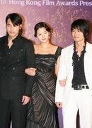 2006香港金像奖红地毯:郑宇成 全智贤 李成宰
