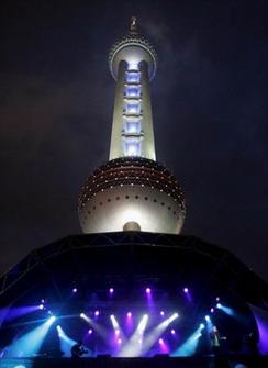 上海站舞台曝光