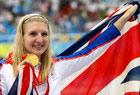 阿德林顿女子800米自由泳夺冠破纪录