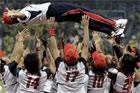 垒球日本队3-1爆冷击败美国队