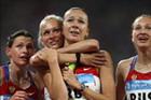 俄罗斯夺女子4x100米夺金