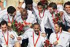 男子手球法国夺冠