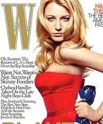莱弗利登《W》杂志封面