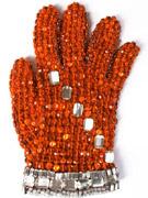 镶水晶的手套