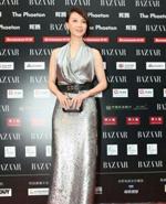 陈数银裙优雅