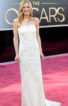 露西-阿里巴白色抹胸长裙