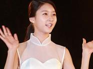金赛纶白裙纯美似公主