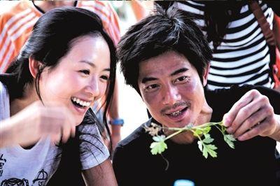 章子怡和郭富城所演绎的爱情是片中一抹暖色