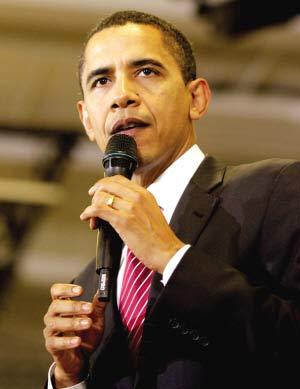 恶搞篇:奥巴马与佩林待遇相当常成恶搞主角