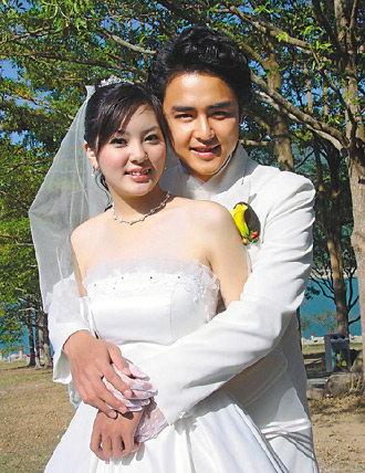 有老婆吗_杨雅筑(左)和明道曾传绯闻,至今仍有后遗症(资料图片)