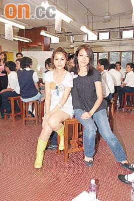 林嘉欣借裸体陶瓷教学生谢安琪秘笈养儿子(图)