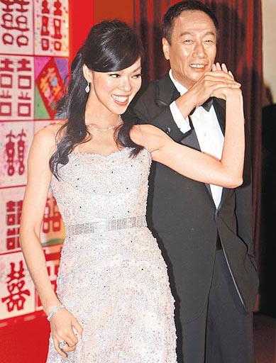 郭台铭申请夫妻分产曾馨莹无权索要婚后财产