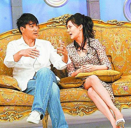 翁家明与妻子俞小凡仍冷战绯闻空姐将复飞(图)