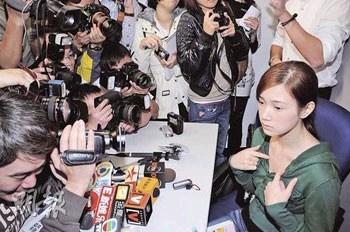 艺人崔建邦涉伤人被捕女友哭诉生命受威胁(图)