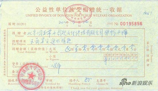 张国立香港呼吁赈灾舒淇杨千�玫背「骶�10万
