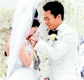 大S汪小菲在婚宴上