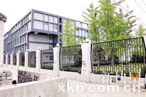 孙兴、莫少聪被关押的北京朝阳区常营拘留所