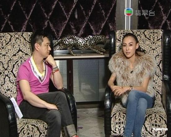 张柏芝接受李浩林采访