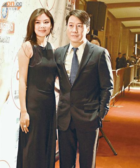 黎明与乐基儿去年11月恩爱出席纽约中国电影节