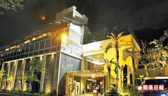 """乌来地区的""""馥兰朵酒店"""",远离市嚣,环境清幽。"""
