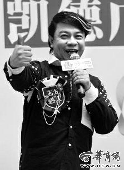 台湾著名主持人蔡康永 本报记者 张�� 摄