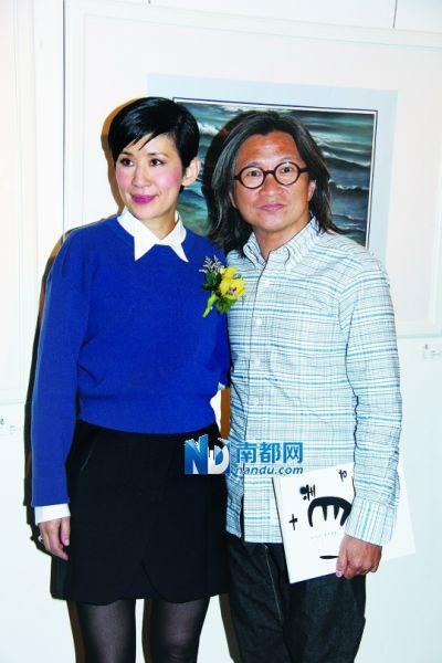 陈可辛以行动支持老婆吴君如。