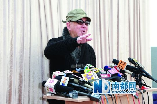 黄秋生自嘲无能 放弃香港演艺人协会会长(组图)