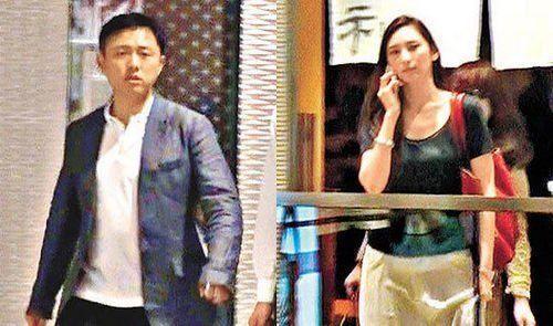 吴佩慈与男友纪晓波