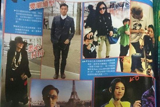港媒称王菲支持女儿加入谢霆锋旗下