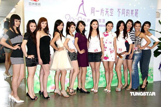 组图:亚洲小姐台湾选拔李威初任选美比赛评审