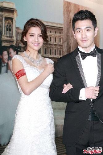 吴千语出席婚纱活动