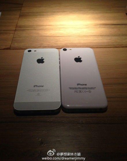 iPhone 5和iPhone 5C