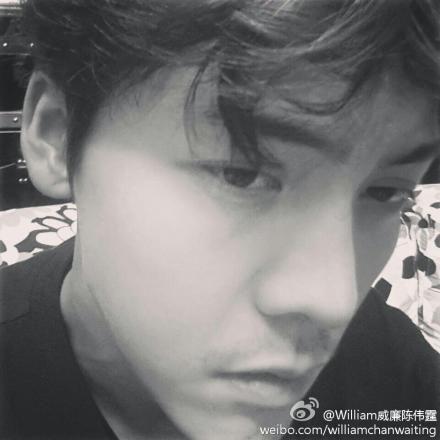 陈伟霆自拍被揭在阿sa家里