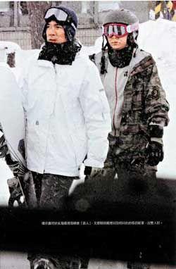 梁朝伟今年没和刘嘉玲一起滑雪