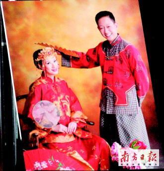 王志文豪华迎娶陈坚红新娘年薪5000万元(图)