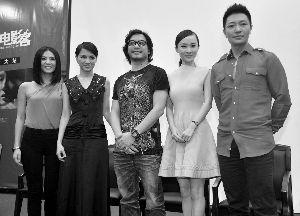 昨日,《梦游3D》主创现身广州。信息时报记者 朱元斌 摄