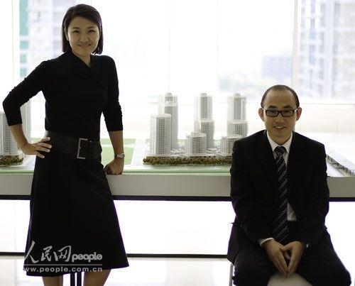 张欣和潘石屹(资料图)