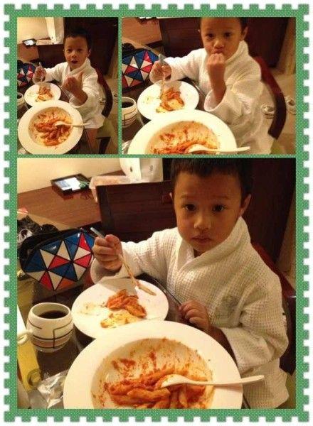 孙悦5岁可爱儿子