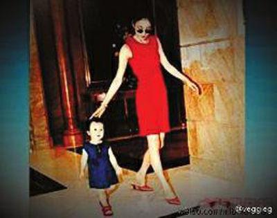 王菲与幼年窦靖童