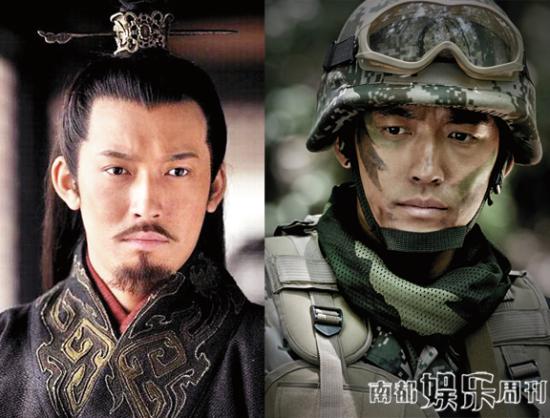 张博的戏虽不多,但均给人留下深刻印象。除了在《三国》里扮演孙权,在《战雷》里塑造的士兵也给人惊艳之感。