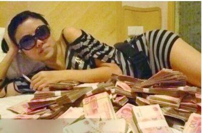 郭美美在微博上晒出的炫富图片。(资料图)