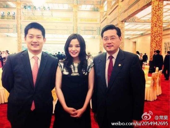 赵薇常昊等受邀出席朴槿惠访华欢迎晚宴