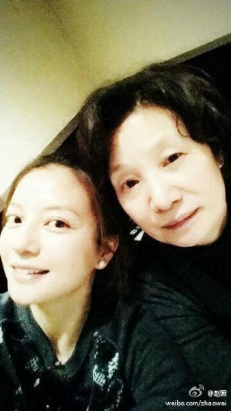 赵薇和妈妈