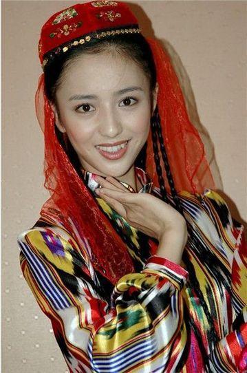 新疆美女佟丽娅
