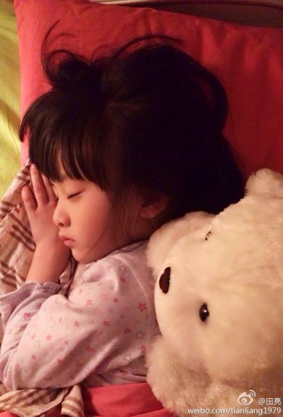 森碟熟睡真的很美