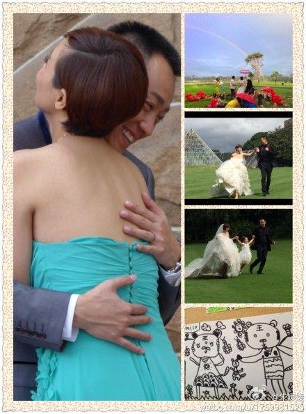 辛柏青朱媛媛结婚八周年