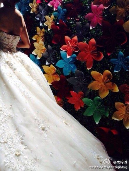 蔡琳试婚纱